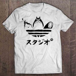 Studio Ghibli Adidas Unisex T Shirt
