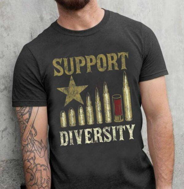 Support Diversity Unisex T Shirt