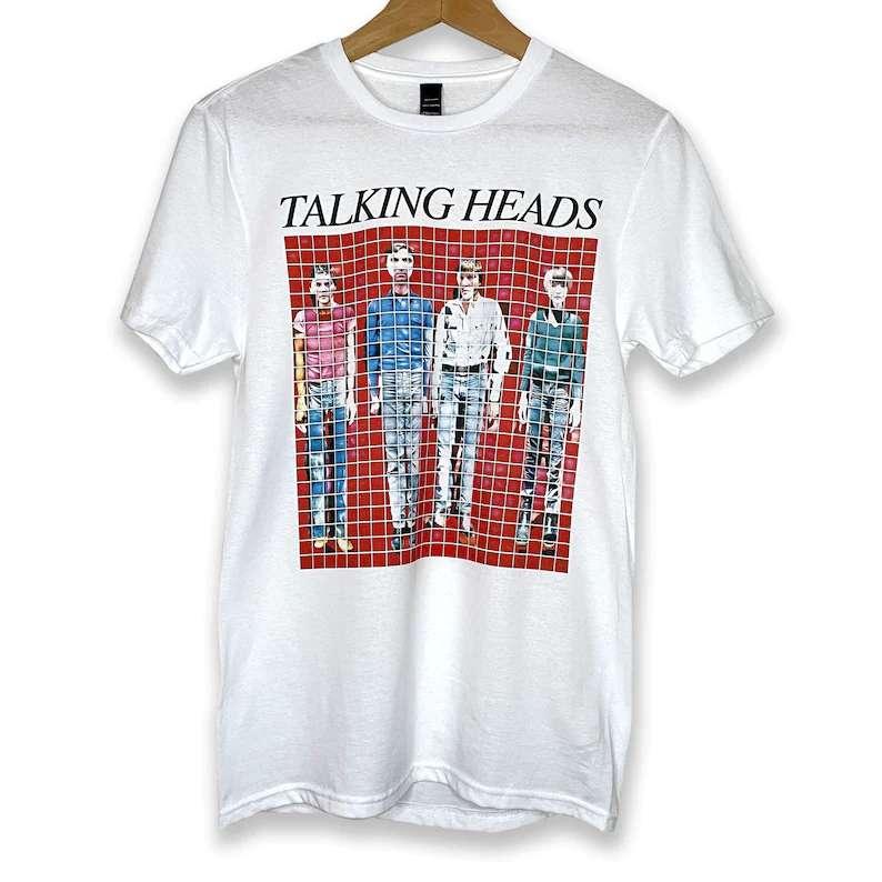 Talking Heads T Shirt New Wave Post Punk Art Rock