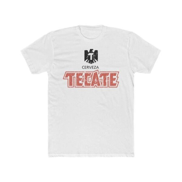 Tecate Beer T Shirt Mexican Golden Lager