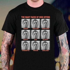 The Many Faces Of Myers Tees