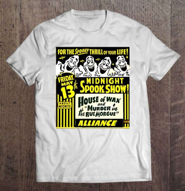 The Midnight Spook Show Unisex T Shirt