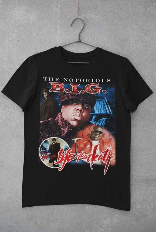 The Notorious BIG Shirt Rapper