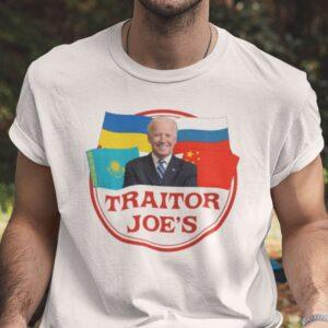 Traitor Joes Anti Biden Unisex T Shirt