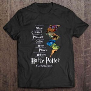 We Defended The Stone We Found The Chamber We Are The Harry Potter Generation T Shirt