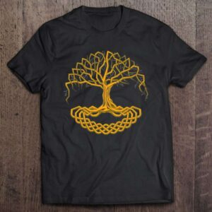 Yggdrasil Viking Tree Of Life Norse Viking Symbol Celtic Unisex T Shirt