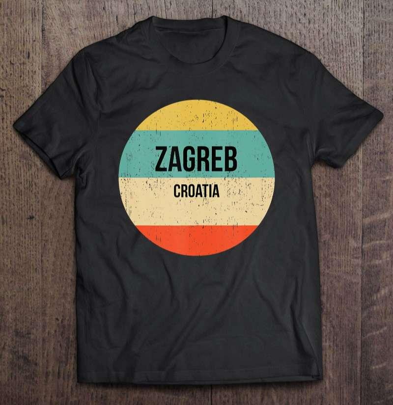 Zagreb City Croatia Unisex T Shirt