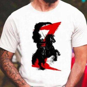 Zorro Horse Attitude T Shirt For Men And Women